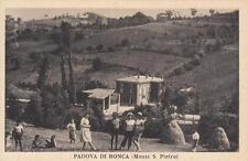 A7681) PADOVA DI RONCA (MONTE S. PIETRO, BOLOGNA), DONNE E BAMBINI.