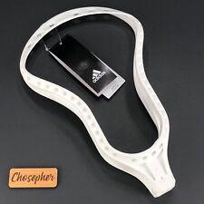 New Adidas Eqt Blockade Unstrung Adult Lacrosse Head White B47051 Size 10