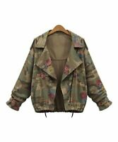 MSRP $80 CELLABIE Taupe Rose Camo Jacket Size L