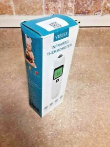 Infrared Touchless No-Contact Forehead Fever Thermometer for Adults thru Infants