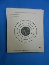 Vintage Pistol TARGETS Lot of 40 Official 25' Slow Fire Handguns Firearms NRA