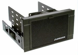 """New Evercool HD-AR-R ARMOR 2x 5.25"""" Drive Bay to 3x 3.5"""" or 4x 2.5"""" HDD Cooler"""