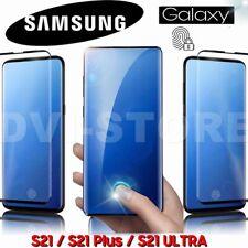 Pellicola VETRO Temperato ULTRASUONI 5D per Samsung Galaxy S21 /PLUS / S21 ULTRA