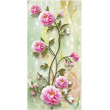 DIY 5D Diamond Painting Peony Flower Embroidery Cross Crafts Stitch Home Decor
