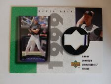 2002 Upper Deck Jersey Card Of HOFer Randy Johnson