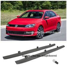 For 11-Up Volkswagen Jetta MK6 GLI Style Rocker Panel Side Skirt Trim Molding