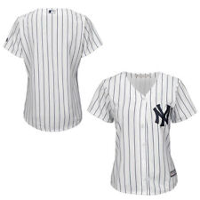 Women's New York Yankees Majestic White Medium Home Cool Base Jersey NEW