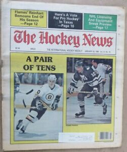 THE HOCKEY NEWS - JANUARY 20, 1984