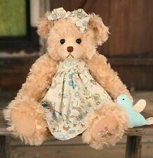 "SETTLER BEARS BIRDSVILLE COLLECTION KIRSTY 17"" PLUSH JOINTED TEDDY BEAR - BNWT"