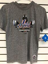 MLB adidas New York Mets Boys Medium Shirt 10/12 Tee