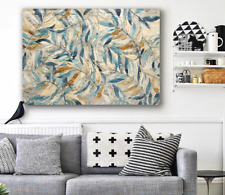 Leaves Stretched Canvas Prints Wall Art Home Decor Framed Painting 60x90
