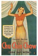 CHU CHIN CHOW Movie POSTER 27x40 George Robey Fritz Kortner John Garrick Pearl