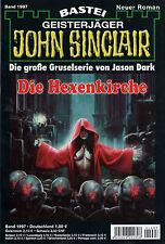 JOHN SINCLAIR ROMAN Nr. 1997 - Die Hexenkirche - Jason Dark NEU