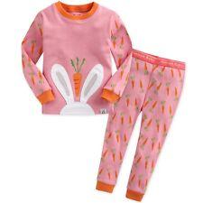 "Vaenait Baby Toddler Kids Girls Clothes Pajama Set ""Secret Bunny"" M(3T)"
