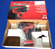 "Snap on 18v 3/8"" MONSTER Litio Cordless Impatto Chiave Inglese Solo Corpo Red cteu 8810"