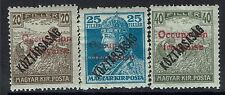 Hungary SC# 1N31-1N33, Mint Hinged, some Hinge Remnants, expert mark- Lot 011117