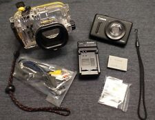 Canon PowerShot S100 12.1MP Camera w/ Canon WP-DC43 Underwater Housing - Wifi