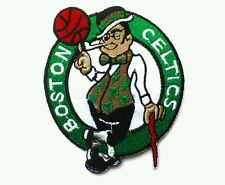 """Boston Celtics NBA 3.5"""" Embroidered Iron Or Sew On Patch"""