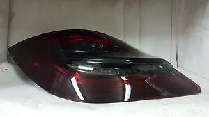 Porsche Boxster 987 Cayman Red / Smoke 2nd Gen 981 style LED Tail Lights