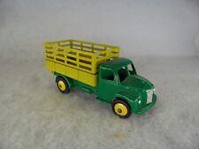 Juguetes DINKY 414 Tren Camión con RESTAURADO AMARILLO Y Verde Pintado