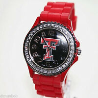Texas Tech Red Raiders Licensed Silicone Watch