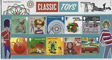 GREAT BRITAIN 2017 CLASSIC TOYS  PRESENTATION PACK