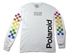Polaroid Mens Spectra Instant Camera Long Sleeve Shirt New S, M, L, XL