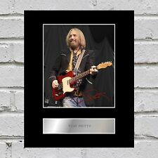 Tom Petty Signed Mounted Photo Display