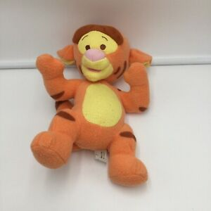 "Fisher Price Tigger Winnie The Pooh Rattle Plush Soft Toy Stuffed 11"" 2001"