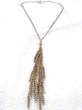 Lucky Brand Gold Leaf Design Necklace