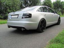 Audi A6 4F Edelstahl Sportauspuff Duplex Auspuffanlage Limo V&L Berend