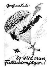 So Wird Man Fallschirmjäger . . ! by Papa Shabba (2013, Paperback)