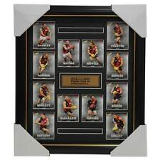 Essendon Bombers 2016 Select Card Team Set Framed Jobe Watson Dyson Heppell