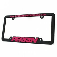 Perrin Performance Plastic License Plate Frame (Pink) I ASM-BDY-500-PINK