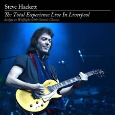 Total Experience: Live in Liverpool [CD & DVD] by Steve Hackett (CD, Jun-2016, 4 Discs, Inside Out Music)
