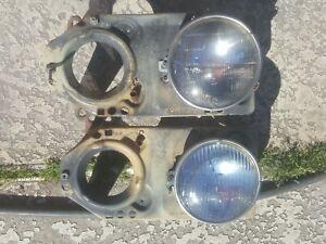 Pair of 1974 Plymouth Fury Headlight Mounting Brackets 74-PD-O-CC