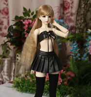 1//3 1//4 1//6 BJD Clothes Plaid Skirt Suit Upper Garment/&Shorts/&Stocking/&Busle New