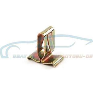 7x Original BMW 51111826894 - Leistenklammer 3er 5er 6er