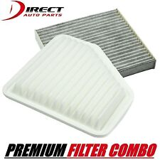 TOYOTA LEXUS SCION CARBON CABIN FILTER & ENGINE AIR FILTER COMBO