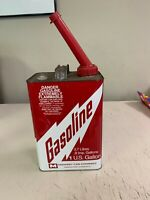 VINTAGE MIDWEST CAN CO. 1 GALLON GAS CAN EXCELLENT CONDITION