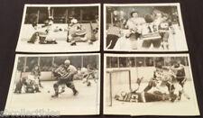 1982/83 - NHL - ORIGINAL MEDIA / PRESS - NY RANGERS & ... - ACTION PHOTOS - (4)