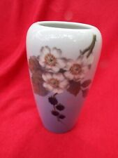 ROYAL COPENHAGEN Vase 1434 747 1990s Blackberry Fruit and Flowers