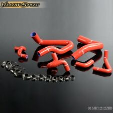 Silicone Radiator Hose Kit For 1986-1993 Ford Mustang GT LX Cobra 5.0 Red