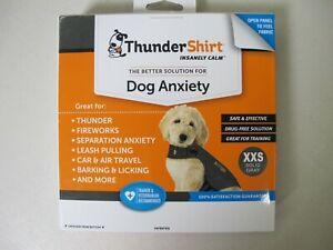 ThunderShirt Classic Dog Anxiety Jacket Heather Grey XXS 15-25 lbs