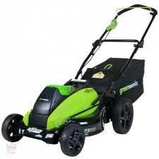 40V Cordless Lawn Mower Electric Battery Greenworks Trimmer Mulching Powerful