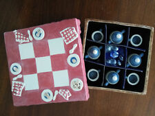 Carol Handmade Ceramic Tea Set Miniature w/Ceramic Box, Dedication to Nicole WOW
