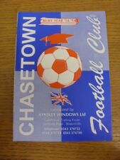 05/08/1995 Chasetown v Lichfield City [Friendly] . Any faults with this item sho