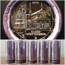 5 x 2 Euro Gedenkmünzen / Sondermünzen Rolle 2013 Baden-Württemberg - Maulbronn