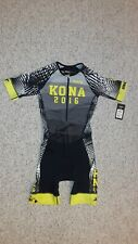 ZOOT Kona Mens Medium Aero Tri Suit Triathlon Swim Cycling Run Racesuit