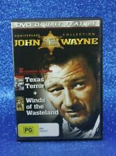 Terror Texas Winds of The Wasteland John Wayne 2 in 1 DVD R4 Rated PG